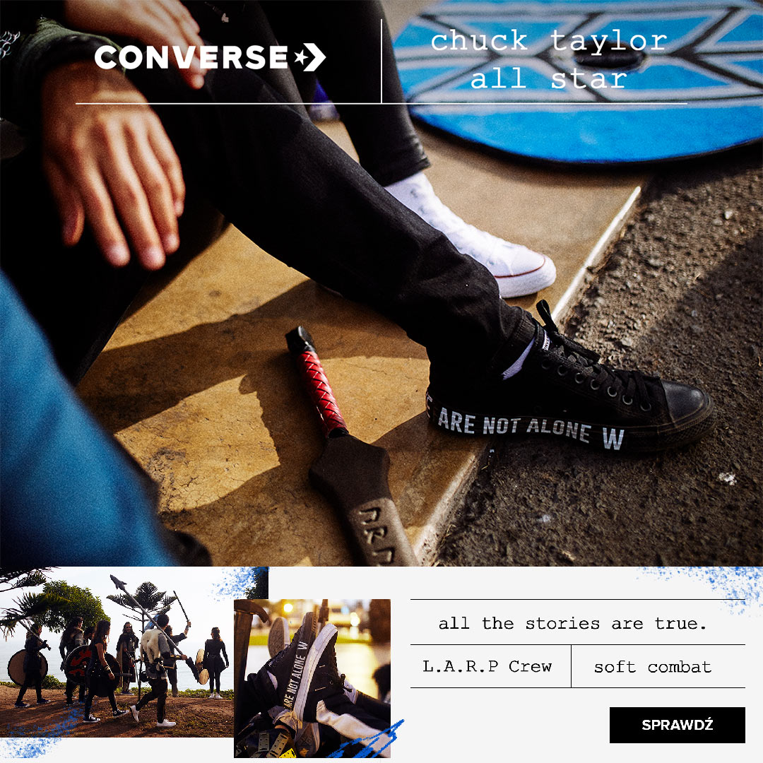 CONVERSE - we are not alone, trampki nowa kolekcja