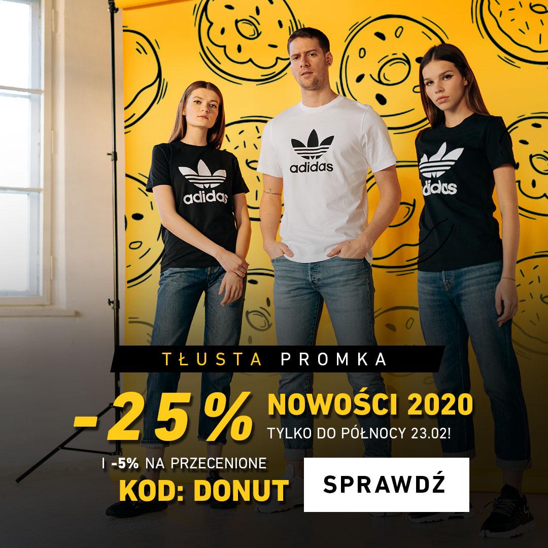 TŁUSTA PROMKA -25% NA NOWOŚCI 2020