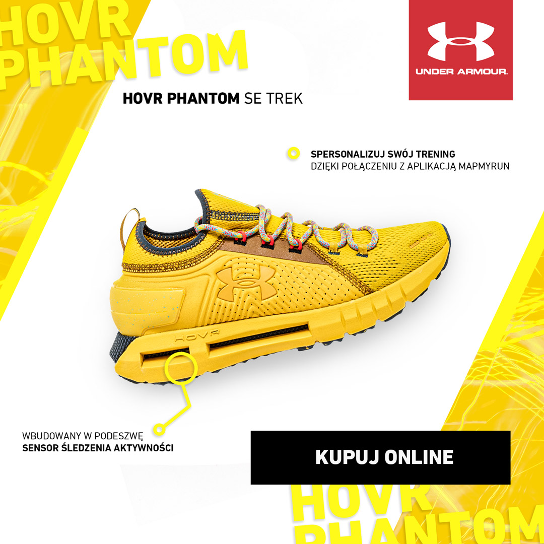 UNDER ARMOUR - NOWOŚĆ: HOVR PHANTOM SE TREK