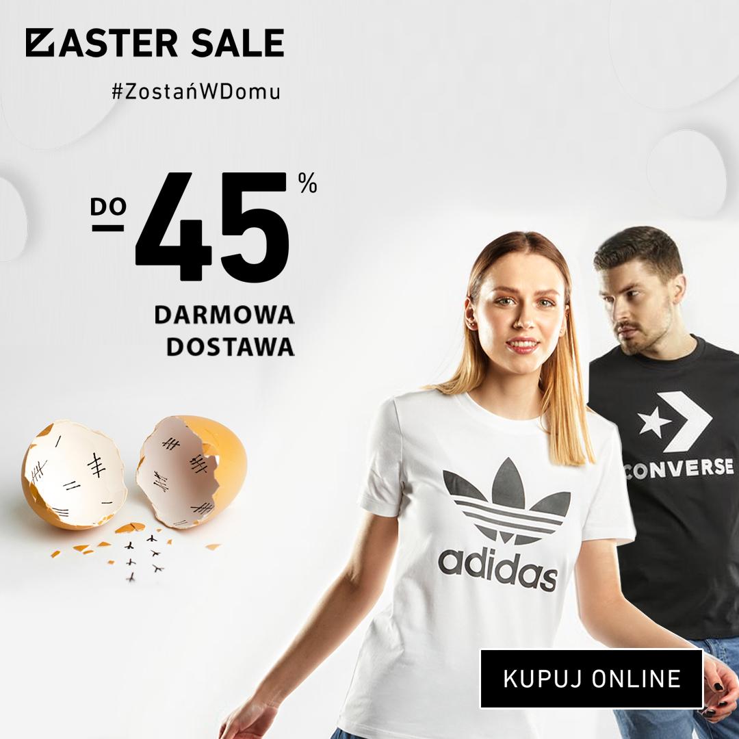 EASTER SALE -45% DARMOWA DOSTAWA